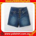 design de impressão de manga curta jaqueta jeans plus size