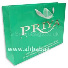 Ribbon Handle Paper Bags