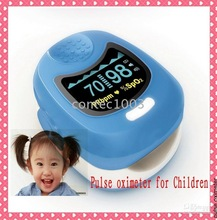 Cute Fingertip Pulse Oximeter for Children, for kids CMS50QB Colour OLED Blood Oxygen Monitor, SPO2 with Rechargable Battery