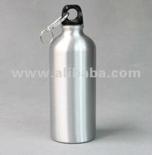 600ml Aluminium Water Bottle (Silver)