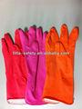 gants de ménage en latex de caoutchouc naturel à long