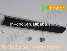 black panel infrared heater