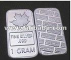 1gram silver bars bullion