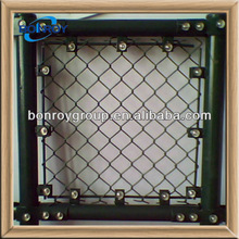 chain link temporary wire fencing panel