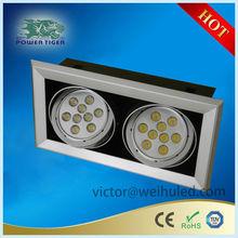 hot sale adjustable recessed led downlight grille