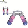 Vinilo inmersión mancuerna conjunto / ejercicio fitness equipment
