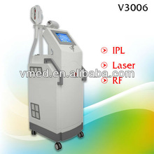 2013 Laser IPL RF Face Permanent Hair Removal anti wrinkle skin care device
