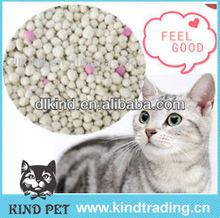 2013 Sample free hot sale! ball shape bentonite cat litter silica gel