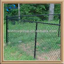 12 gauge pvc coated chain link wire mesh fence panels