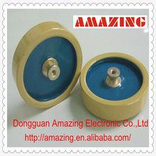 10kv 100pf high voltage high power screw type ceramic capacitor supply circuit