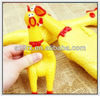 soft squeaky plastic chicken squeeze toys
