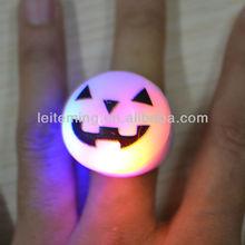 Soft Flicker fashion LED soft silicone finger ring