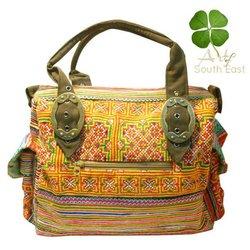 Hmong tribal Clutch Bag -Hmong handbag from thai highlander thailand