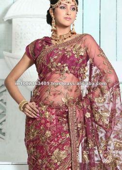 bridal saree blouses designs