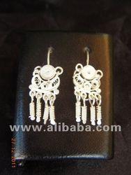 Small Dormilonas - earring- Peruvian silver 950