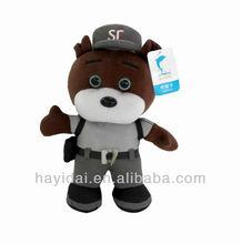 Brown bear doll stuffed bear