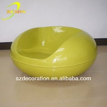 RS-FB114 Fiberglass acrylic hanging bubble chair