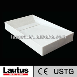 Lautus original desigh with CE&USTG certificate MILD6438WM natural stone bathroom basin