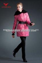 2014 premium down feather filled elegant fashion women new model clothes 811B208