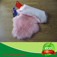 Cheap fur soft sheep fur floor rug