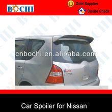 Hot sale of car rear spoiler for nissan tiida