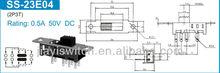 micro slide switch