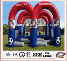 mini inflatable football game/football shooting/football kick for sale
