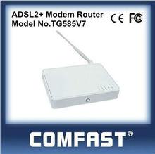 4 Lan ADSL Wireless Modem Router 54Mbps ADSL2 Modem Router COMFAST TG585V7