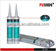 PU821 is low modulus one component polyurethane construction joints concret skip type concrete pu glue suppliers