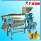 High efficiency industrial screw type juice extractor for apple,pear,pineapple,mango,carrot,aloe,etc.