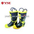 La seguridad de los zapatos de protección, resistente al fuego de zapatos de seguridad