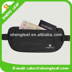 Popular money belt bags, outdoor money waist bags