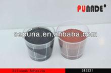 Sepuna White/Black Liquid RTV curing organic silicone pouring adhesive sealant