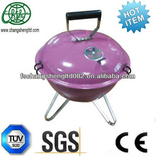 14inch weber colorful enamel fire bowl and wooden handle mini Hamburg portable charcoal bbq grill