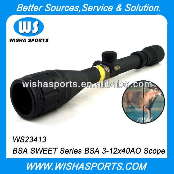 BSA SWEET 3-12x40AO Optical Tactical Hunting Riflescope