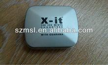 Hinge Mint tin with inner plastic insert