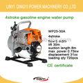 4 storke moteur à essence pompe à eau wp25-30a pour l'agriculture