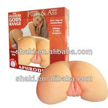 Buns (4137-01) realistic silicone artificial vagina ass