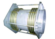 metal tied duplex bellows expansion joint with flange