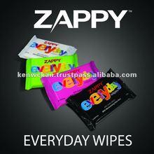 Zappy Everyday Wet Wipes