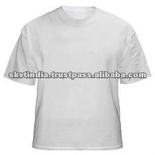 CHEAP COTTON WHITE T SHIRT 120 GRAM