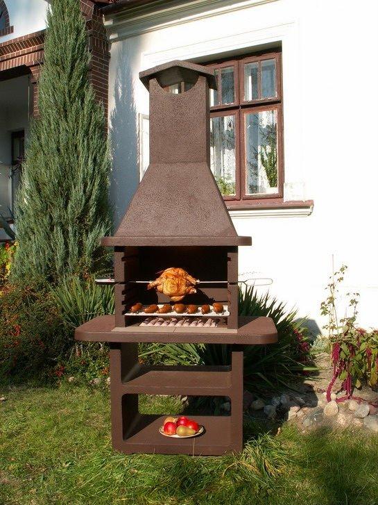 Parrillas de jard n bbq chimenea al aire libre parrillas for Barbecue de jardin