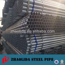 galvanizing steel pipes diameter 60mm