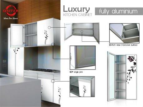 Luxury fully aluminium kitchen cabinet view kitchen cabinet onitek
