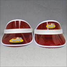 pvc baby sun visor hat
