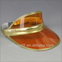 plastic peak cap visor
