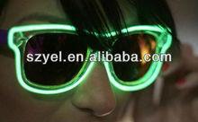 Fashion LED Sunglasses, EL Wire Glasses