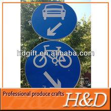 car/bike road aluminum frame for sign board