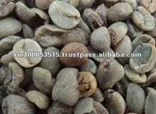 Semi-Washed Low Grade Arabica Green Coffee