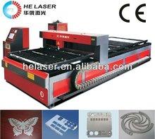 CE copper aluminum alloy metal laser cutting machine wood home business machines